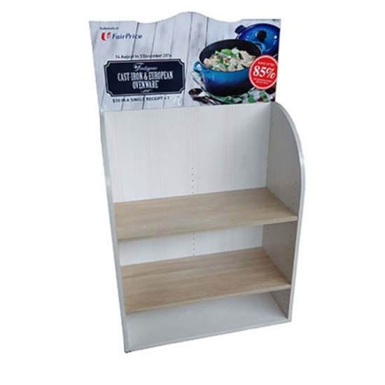 Customized end cap display stand