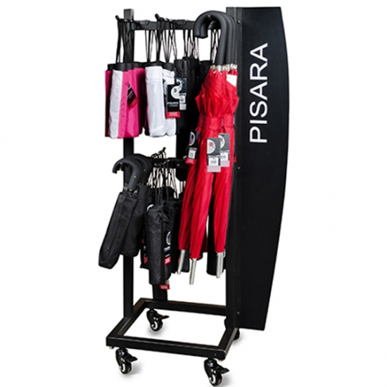 umbrella display rack