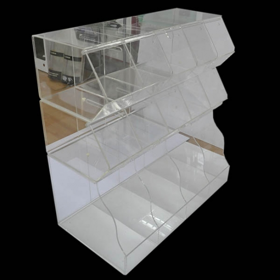 Acrylic candy display counter