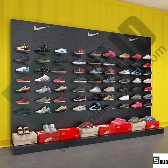 shoe display shelf