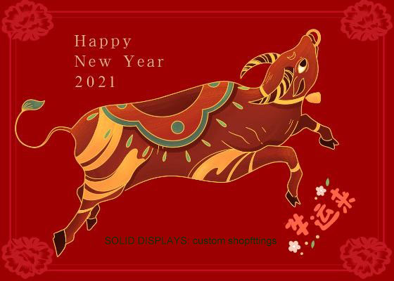 Happy 2021 Niu year holiday